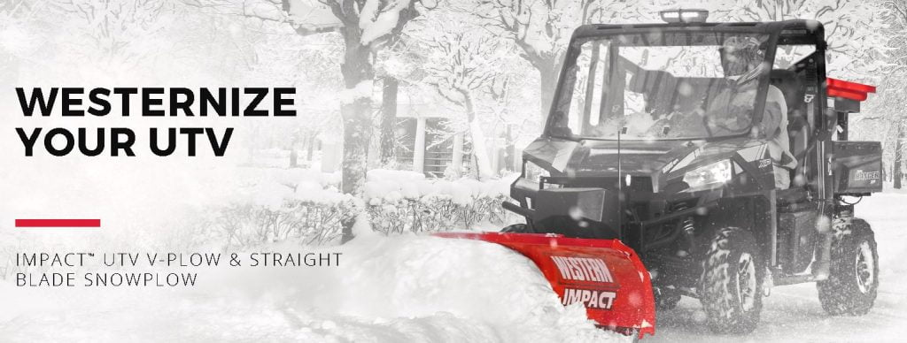 Western UTV Impact Snow Plows For Sale