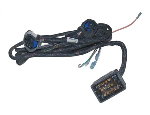boss part # msc09417 – 13-pin plow side led lighting wiring harness
