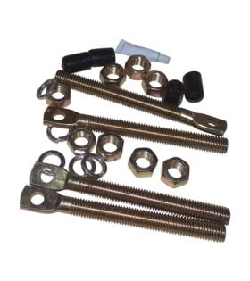 16101210 - SnowDogg® Spring Mount Eye Bolt Kit Set of 4 - OEM