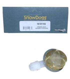 SnowDogg Part # 16151102 - HT300, HV600 Inlet Strainer With Elbow