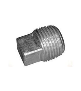 Boss Part # HYD01712 - Hydraulic Reservoir Drain Plug