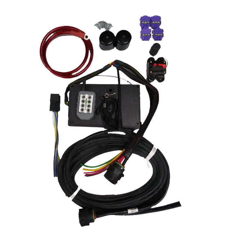 6500DCKIT Dual Electric Motor Wireless Controller Conversion Kit for Dual Motor Salt Spreaders Universal